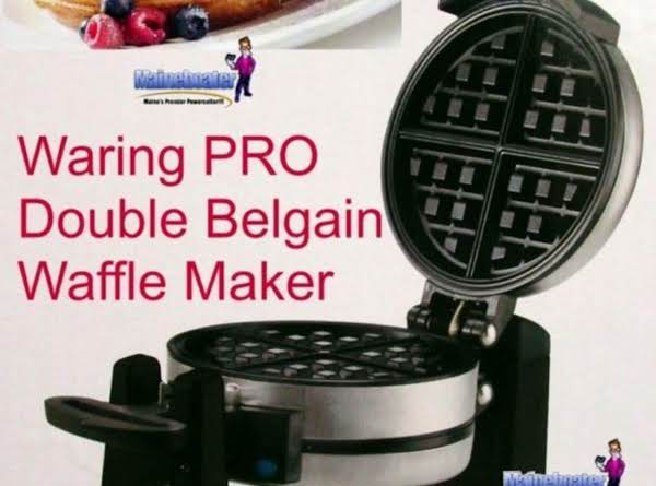 Best Belgian Waffle Recipe Just A Pinch Recipes