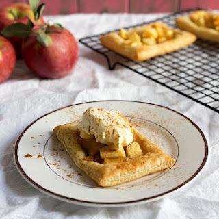 Flaky Apple Cinnamon Tarts