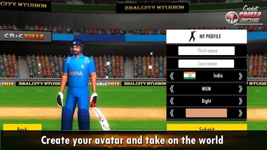 Cricket Career 2016 3.3 Android Mod + APK + Data 3