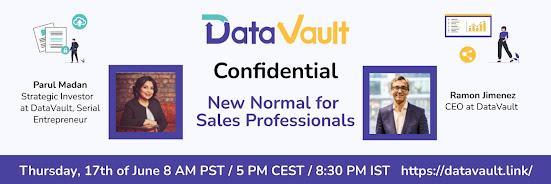 DataVault Confidential: New Normal for Sales Professionals
