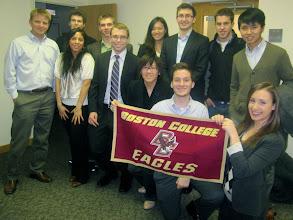 Photo: BC students at Nathan Eagle's Jana.com IS Academy