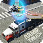 Car Transform Mega Ramp Truck Robot Transformation icon