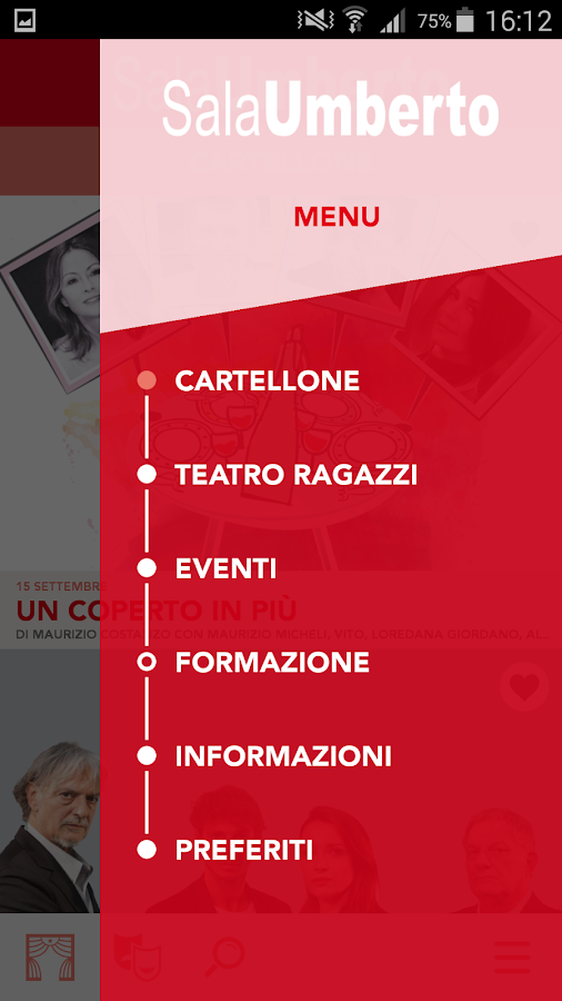 Teatro Sala Umberto- screenshot