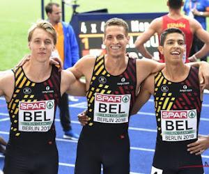 Kwartetten voor Belgische 4X400 meter bekendgemaakt; finaleplaats is primaire doel