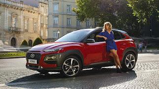 El Hyundai KONA es uno de los modelos disponibles.