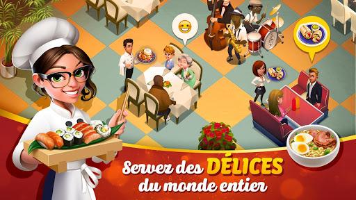 Tasty Town 🍔🍟 Jeu de restaurant & cuisine 🍦🍰 APK MOD – ressources Illimitées (Astuce) screenshots hack proof 1