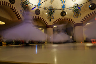 Photo: a whirling dervish is not  a basketball move