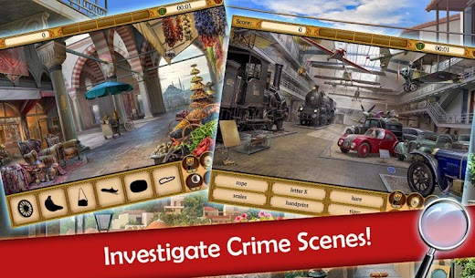 Hidden Objects: Mystery Society Crime Solving 3