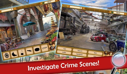 Hidden Objects: Mystery Society HD Free Crime Game - náhled