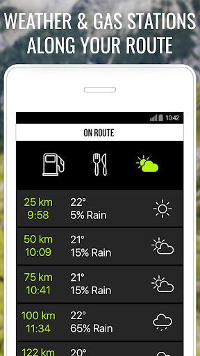 NAVIGON Cruiser - Motorcycle Navigation  screenshots 4