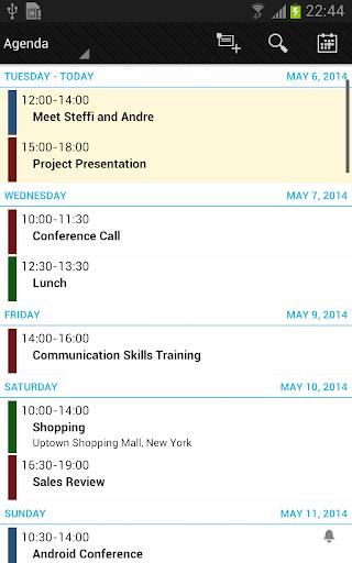 Business Calendar Beta screenshot 4