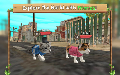 Cat Sim Online: Play with Cats  screenshots 4