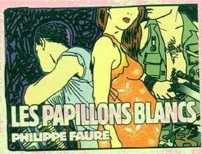 """Afiiche """"Les Papillons Blancs"""""""