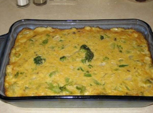 Broccoli Cheese Casserole Recipe