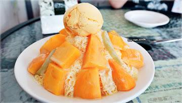 微涼芒果冰
