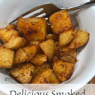 Delicious Smoked Paprika Roasted Potatoes.