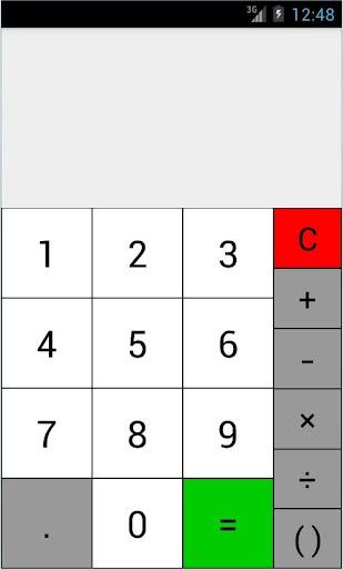 Developing a calculator