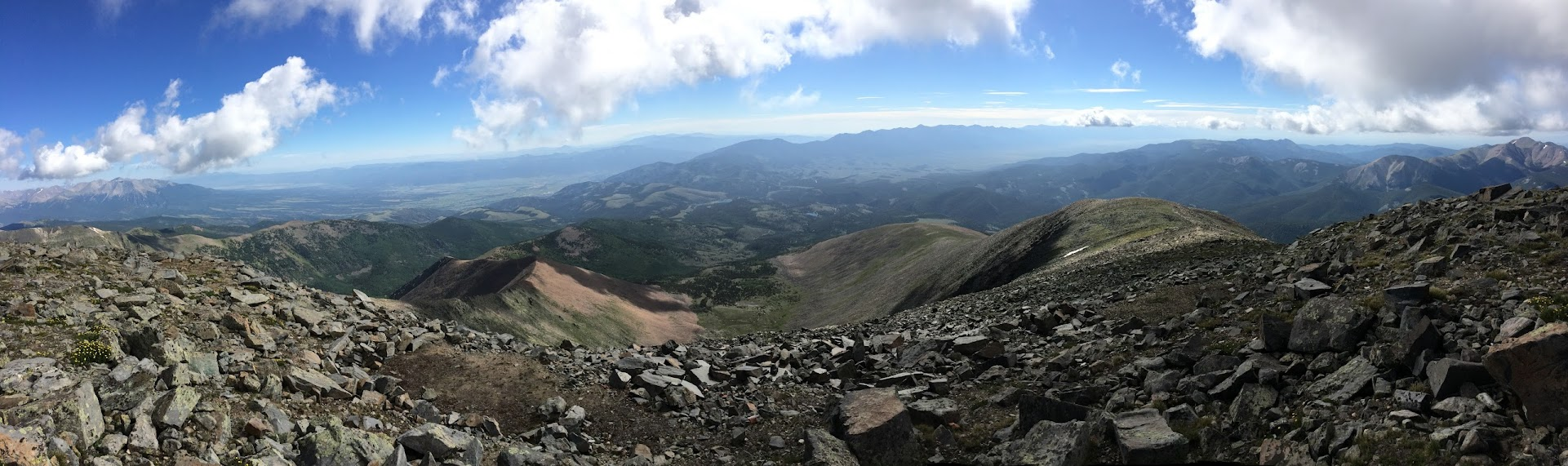 14ers Com Trip Report Mt Ouray The Devils Armchair