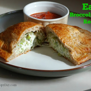 Easy Frugal Recipes | Broccoli Calzones for as low as $2.27 per serving