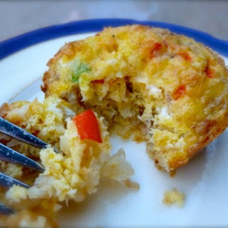Weight Watchers Individual Ham Cheese Veggie Frittatas.