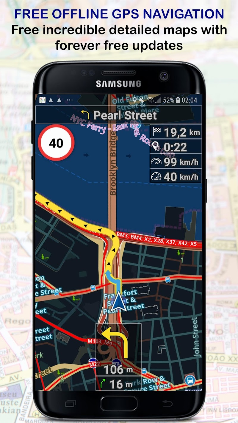 Navigator PRO - GPS Navigation with Offline Maps APK Cracked