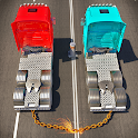 Chained Trucks against Ramp icon