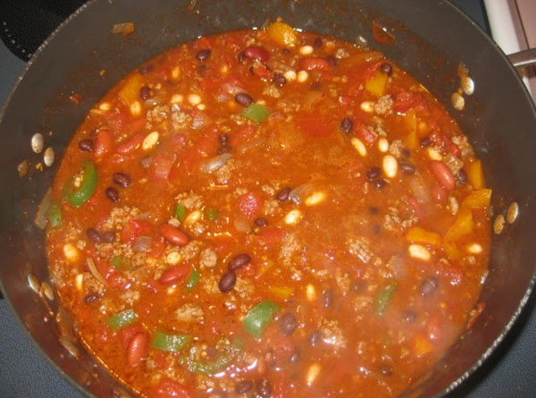 Saute the bell pepper, onion and jalapeno peppers in canola oil or olive oil;...