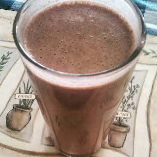 Peanut Butter Chocolate Smoothie.