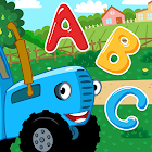 The Blue Tractor Funny Learning! Game for Toddlers