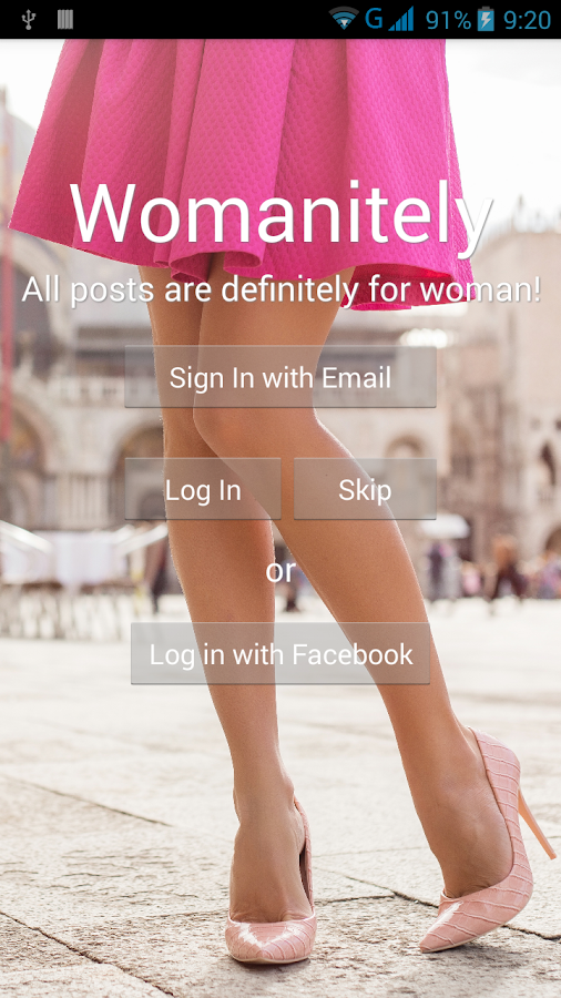 Womanitely- screenshot