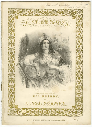 Cover of 'The Sultana Waltzes' by Alfred Sedgwick