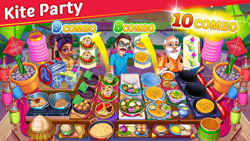 Cooking Party: Restaurant Craze Chef Fever Games apkpoly screenshots 1