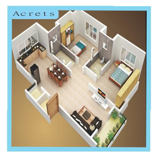 簡約的家居設計 遊戲 App LOGO-硬是要APP