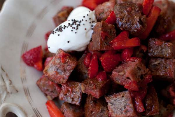 This Is Not My Picture But It's As Close To What I Make As Possible. I Didn't Have Any To Photograph At The Time. Photo Credit: Http://www.101cookbooks.com/archives/strawberry-panzanella-recipe.html