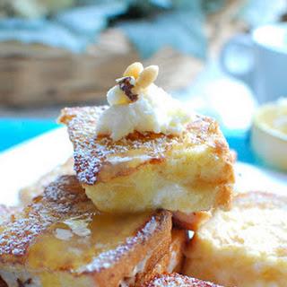 Mascarpone French Toast with Orange Syrup
