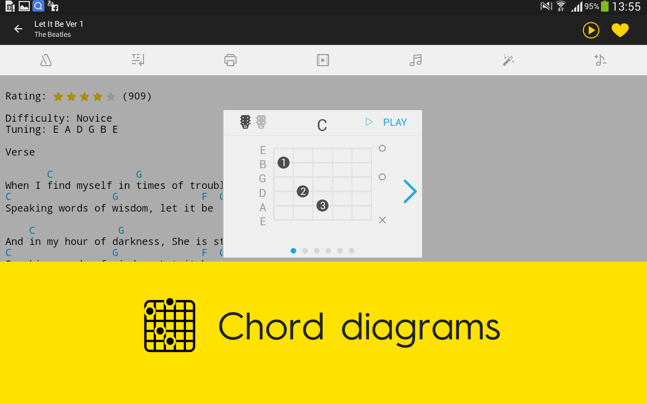 Tabs chords android apps on google play tabs chords screenshot hexwebz Choice Image