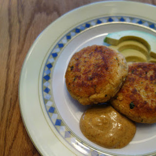 Cumin Spiced Salmon Patties (gluten, grain, dairy free).