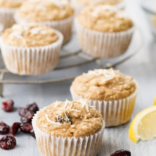Lemon Cranberry Muffins.