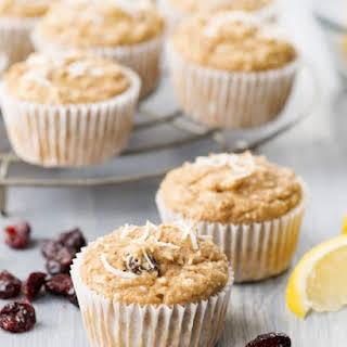 Lemon Cranberry Muffins.