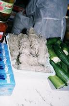 Photo: 03113 ウランバートル/風景/ダライ・エージ(海の母)/食料品専門の市場/春雨/きゅうり