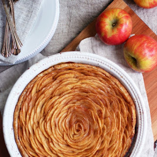 OPEN FACE APPLE PIE