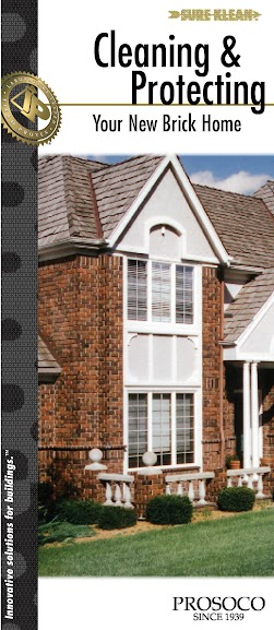 Cleaning and protecting new brick homes