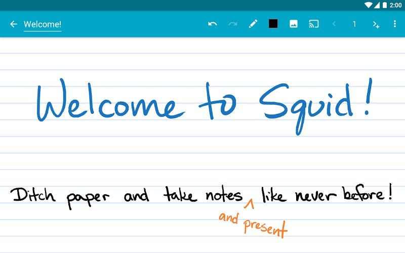 Squid - Take Notes & Markup PDFs Screenshot 16