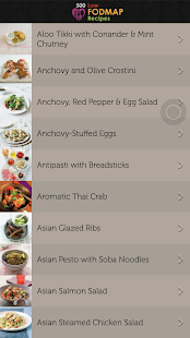 500 Low FODMAP Recipes- screenshot thumbnail