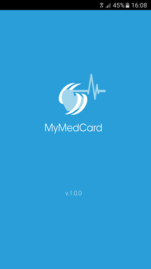 MyMedCard- screenshot