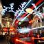 Bus Stop by DJ Cockburn - Public Holidays Christmas ( lights, bus, winter, london, street, christmas lights, christmas, night, road, regent street,  )