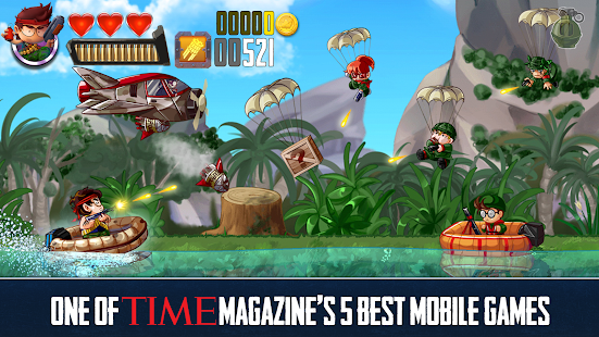 Game Ramboat - Offline Jumping Shooter and Running Game APK