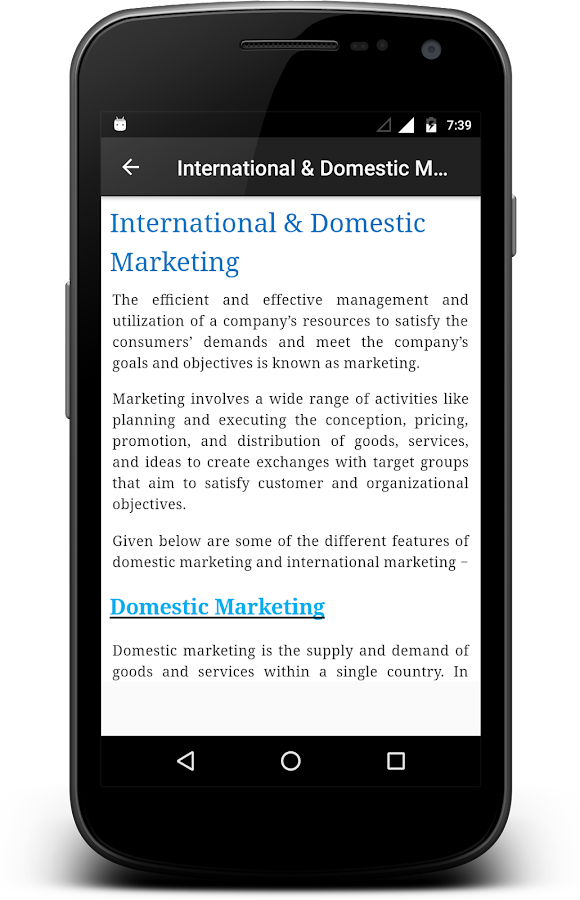 International Marketing - Android Apps on Google Play