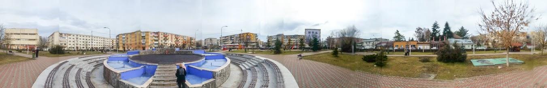 Photo: Turda - Parcul Teilor -  fântână arteziană - 2019.02.03