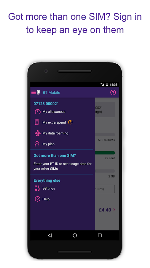 BT Mobile- screenshot